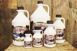 250mL Plastic Maple Syrup
