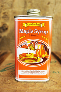250mL Tin Maple Syrup