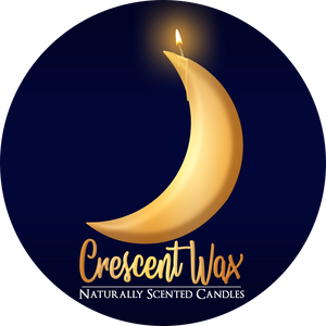 Crescent Wax Naturally Scented Candles