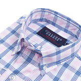 Collared Greens - The Mooreland Button Down - Navy/Pink/White - Shirts - The American Gentleman - 2