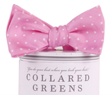 Collared Greens - Dots Bow Tie - Pink - Bow Tie - The American Gentleman - 2