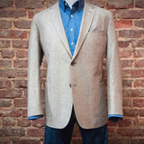 Ole Mason Jar - The Tan Pick Linen Sport Coat - Sport Coat - The American Gentleman - 2