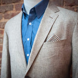 Ole Mason Jar - The Tan Pick Linen Sport Coat - Sport Coat - The American Gentleman - 1