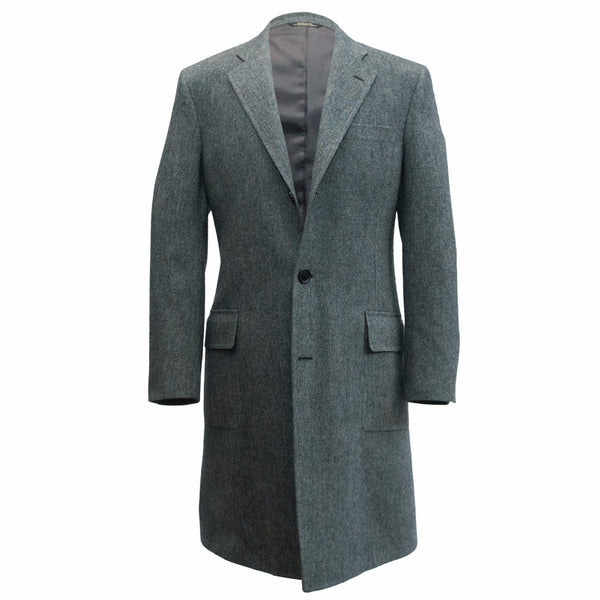 Ole Mason Jar - The Grey Tweed Overcoat - Sport Coat - The American Gentleman - 1