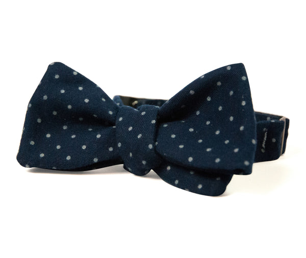 Ole Mason Jar - The Indigo Selvedge Bowtie - Bow Tie - The American Gentleman