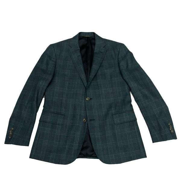 Ole Mason Jar - The Navy Plaid Sport Coat - Sport Coat - The American Gentleman - 1