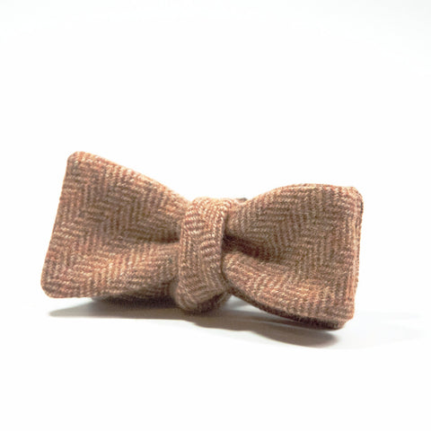 Ole Mason Jar - The Burnt Tan Bowtie - Bow Tie - The American Gentleman