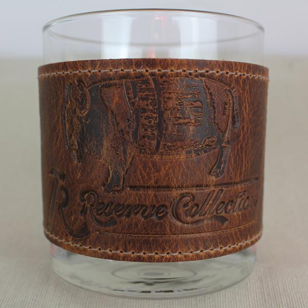 The Bison Wrapped Bourbon Glass