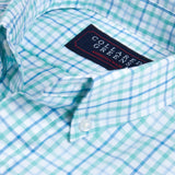 Collared Greens - The Grove Button Down - Green/Blue - Shirts - The American Gentleman - 2