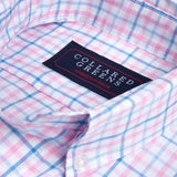 Collared Greens - The Grove Button Down - Blue/Pink - Shirts - The American Gentleman - 2