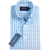 Collared Greens - The Grove Button Down - Blue/Teal/Pink - Shirts - The American Gentleman - 1