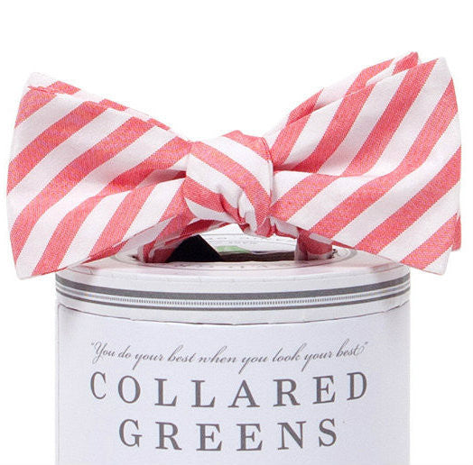 Collared Greens - Kaiwah Bow Tie - Red - Bow Tie - The American Gentleman