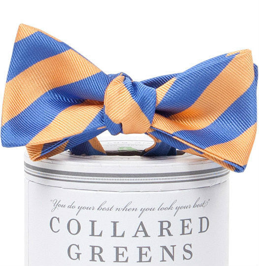 Collared Greens - Kapalua Bow Tie - Orange - Bow Tie - The American Gentleman