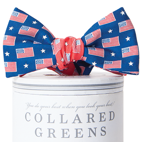 Collared Greens - Let Freedom Ring Mixer Bow Tie - Bow Tie - The American Gentleman