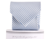 Collared Greens - Signature Series - Carolina Blue Stripe - Ties - The American Gentleman - 2