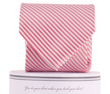 Collared Greens - Signature Series - Pink Stripe - Ties - The American Gentleman - 2