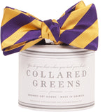 Collared Greens - Tamarack Bow Tie - Purple / Gold - Bow Tie - The American Gentleman - 1