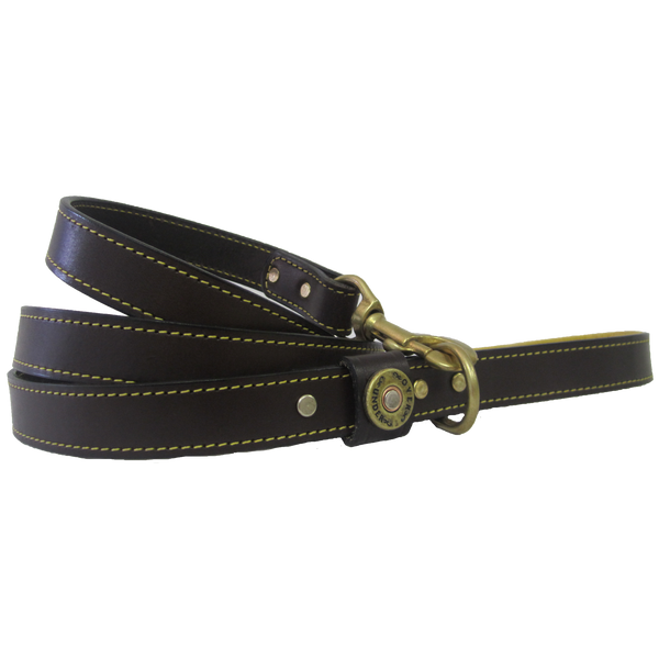 Over Under Clothing - The Sunday Driver Leash - Deerskin Handle - For Dogs - The American Gentleman - 1