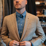 Ole Mason Jar - The Tan Pick Linen Sport Coat - Sport Coat - The American Gentleman - 6