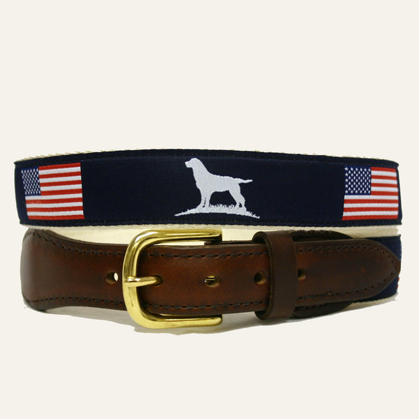 Over Under Clothing - The Patriot Ribbon Belt - Belts - The American Gentleman
