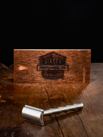 Sixty8 Provisional Co. - The Working Man Safety Razor - Grooming - The American Gentleman - 1