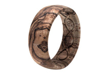 Load image into Gallery viewer, Nomad Burled Walnut Silicone Ring