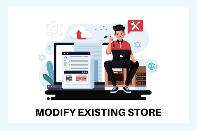 Modify Existing Shopify Store
