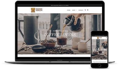 Coffee Products Niche Store
