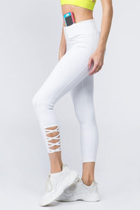High Waist Ankle Length - Bright White