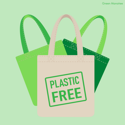 Green Manatee's plastic free instagram picture
