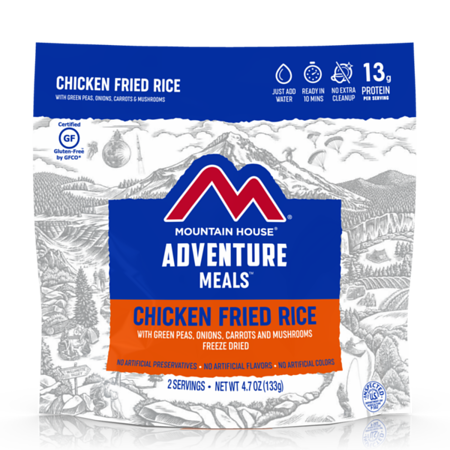 Mountain House Chicken Fried Rice - Freeze Dried Pouch Gluten Free