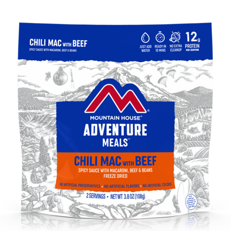 Mountain House Chili Mac with Beef - Freeze Dried Pouch