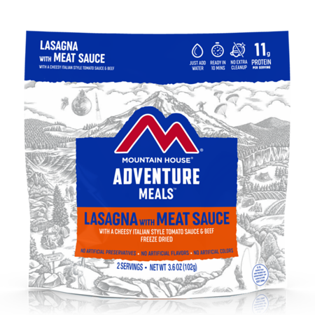 Mounatin House Lasagna with Meat Sauce - Freeze Dried Pouch