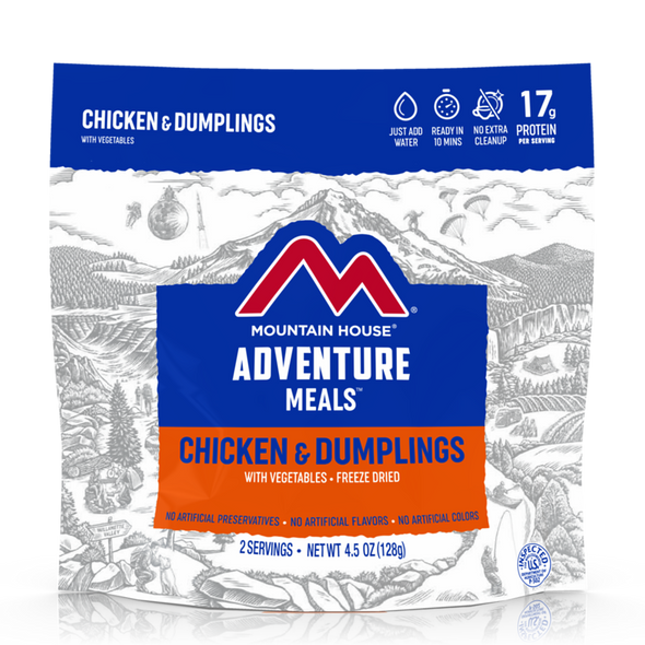Mountain House Chicken and Dumplings - Freeze Dried Pouch