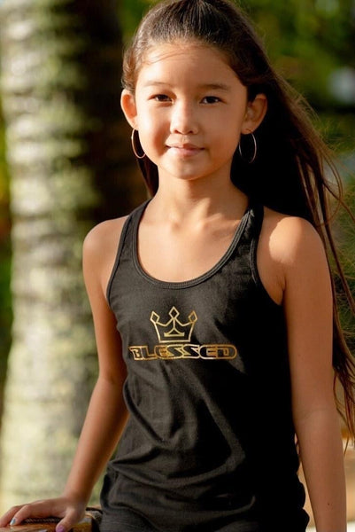 Youth Black/Gold Tank
