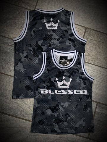 Blessed Camo Jerseys (Toddler/Adult)