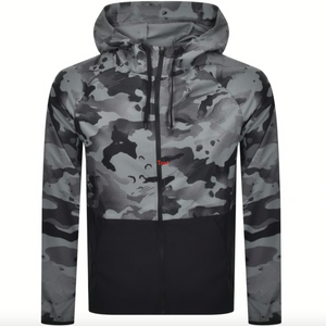 Nike Training Pro Flex Camo Jacket Grey