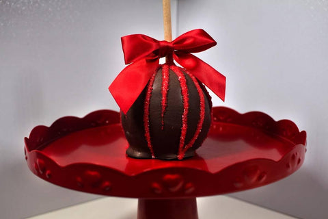 Dark Chocolate Caramel Apple - mygourmetberries