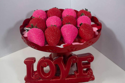 Candy Sugar Strawberries - mygourmetberries