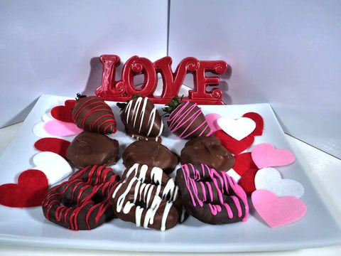 Milk Chocolate Variety Gift Box - mygourmetberries