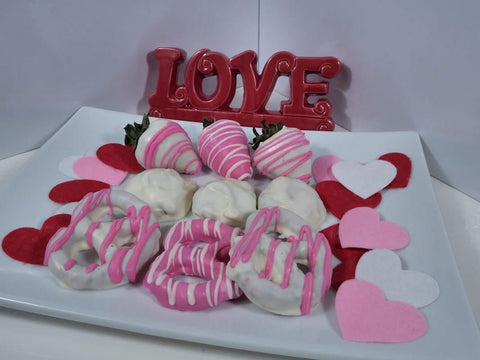 White Chocolate Variety Gift Box - mygourmetberries