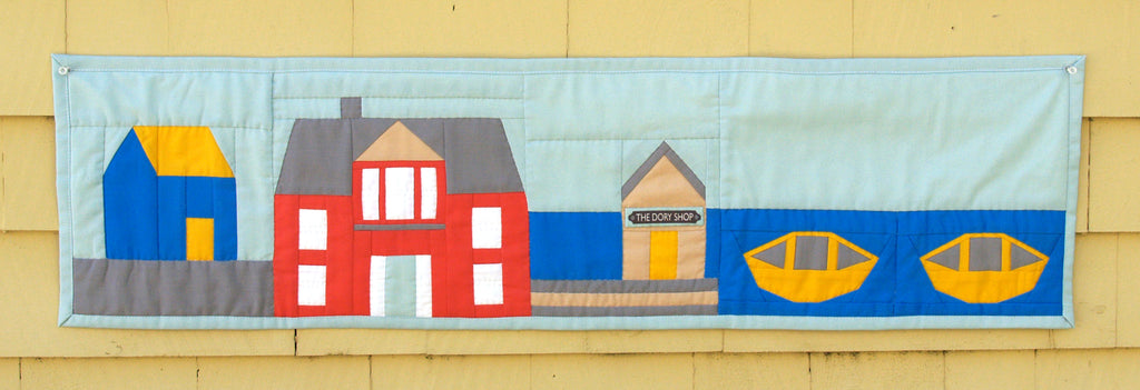 Row By Row Quilt Kit The Lunenburg Makery