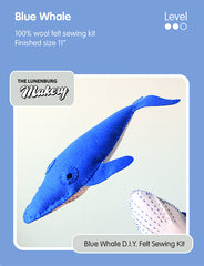 *NEW* Blue Whale D.I.Y. Felt Sewing Kit