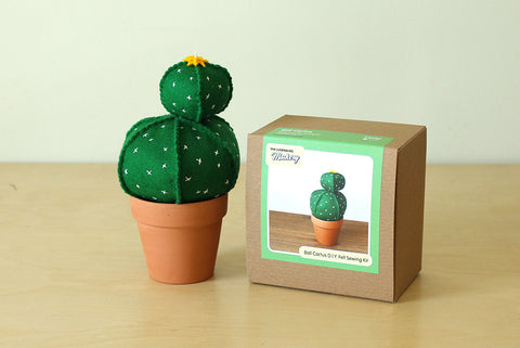 Ball Cactus D.I.Y. Felt Sewing Kit