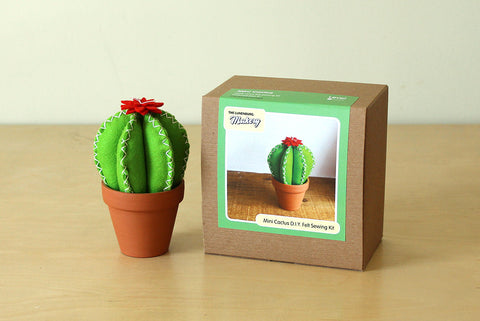 Mini Cactus D.I.Y. Felt Sewing Kit