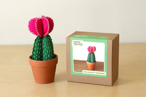 Moon Cactus D.I.Y. Felt Sewing Kit