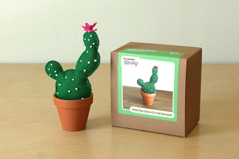 Prickly Pear Cactus D.I.Y. Felt Sewing Kit