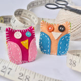 Itty Bitty Owl D.I.Y. Felt Hand Sewing Kit