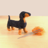 Dachshund Dog Needle Felting DIY Kit