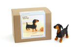 beginner-needle-felting-kit-dog-dachshund-wool-tools